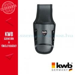 KWB PROFI fekete gyöngyvászon kés és kalapács tartó
