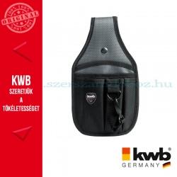 KWB PROFI szürke-fekete univerzális gyöngyvászon szerszámos övtáska