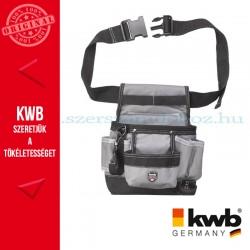 KWB PROFI univerzális szürke gyöngyvászon szerszámos övtáska