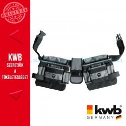 KWB PROFI univerzális szürke gyöngyvászon dupla szerszámos övtáska