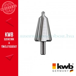 KWB PROFI HSS fokozatmentes kúpfúró 16-30 mm