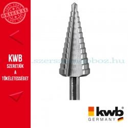 KWB PROFI HSS kúpfúró 2 mm-es osztással 6-30 mm
