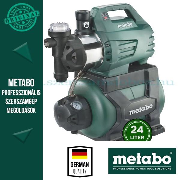 Metabo HWW I 3500/25 INOX Házivízellátó szűrővel