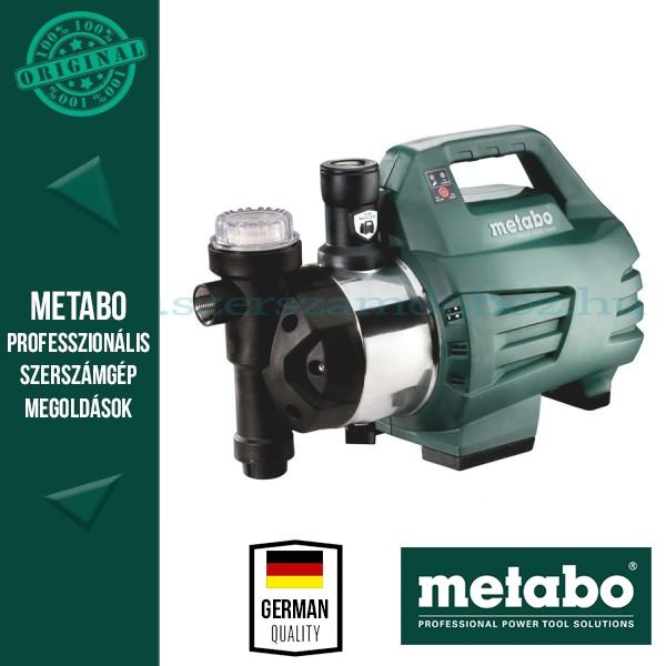 Metabo HWAI 4500 INOX Házivízellátó automata szűrővel