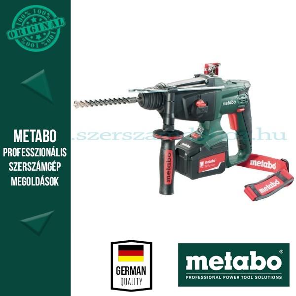 Metabo KHA 18 LTX Akkus kombikalapács akkuval és töltővel