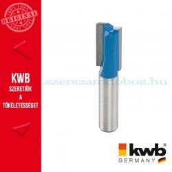 KWB PROFI HSS TCT nútmaró kés kemény és puha fára 12 x 8 mm