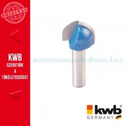 KWB PROFI HSS TCT kerekítő kés kemény és puha fára 19 x 8 mm