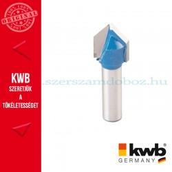 KWB PROFI HSS TCT 'V' horonymaró kés kemény és puha fára 14 x 8 mm