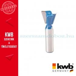 """KWB PROFI HSS TCT """"fecskefarok"""" nútmaró kés kemény és puha fára 18 x 8 mm"""