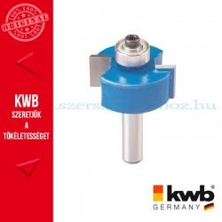 KWB PROFI HSS TCT falc maró kés kemény és puha fára 31,7 x 8 mm