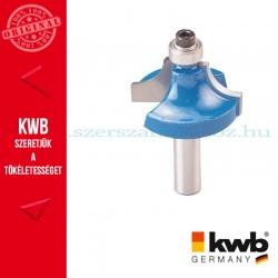 KWB PROFI HSS TCT csapágyas 'OVOLO' kerekítő kés keményés puha fára 25,4 x 8 mm