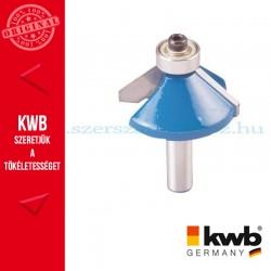 KWB PROFI HSS TCT csapágyas fóz kés kemény és puha fára 35,5 x 8 mm