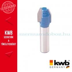 KWB PROFI HSS TCT trimmelő fóz kés kemény és puha fára 11,7 x 8 mm