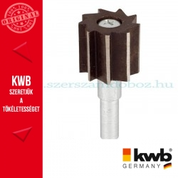 KWB PROFI CS profil-falcmaró kés fához 25 x 20 x 8 mm