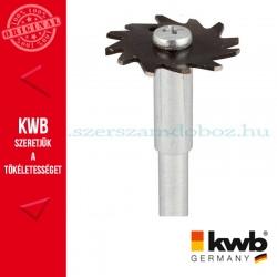 KWB PROFI CS profil-nútmaró kés fához 25 x 35 x 8 mm