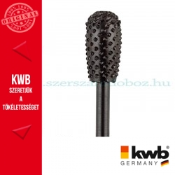 KWB PROFI HCS csapos, körte profil ráspoly fához 16 x 30 x 6 mm
