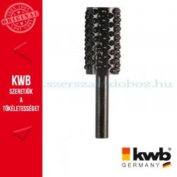 KWB PROFI HCS csapos, hengeres profil ráspoly fához 16 x 30 x 6 mm