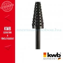 KWB PROFI HCS csapos, kúpos pfofil ráspoly fához 15 x 35 x 6 mm