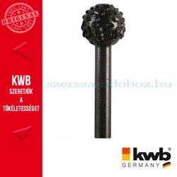 KWB PROFI HCS csapos, gömb profil ráspoly fához 16 x 6 mm
