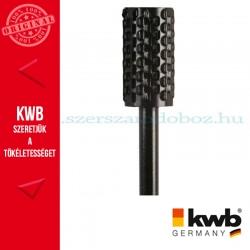 KWB PROFI HCS csapos, hengeres profil ráspoly fához, színesfémhez 16 x 30 x 6 mm