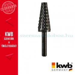 KWB PROFI HCS csapos, kúpos profil ráspoly fához, színesfémhez 15 x 35 x 6 mm