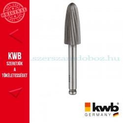 KWB PROFI HSS csapos, lekerekített hengeres turbómaró fémhez 13 x 32 x 6 mm