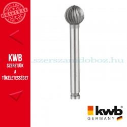 KWB PROFI HSS csapos, gömbölyitett végű kúpos turbómaró fémhez 12 x 31 x 6 mm