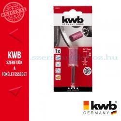 KWB PROFI alu.oxid csapos, kúpos köszörűkő fém, üveg, kerámia és műanyaghoz 30 x 30 x 6 mm