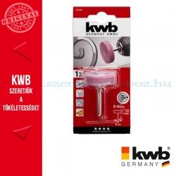 KWB PROFI alu.oxid csapos, lapos hengeres köszörűkő fém, üveg, kerámia és műanyaghoz 25 x 25 x 6 mm
