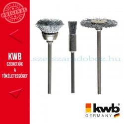 KWB PROFI drótos csiszoló klt. 3 db