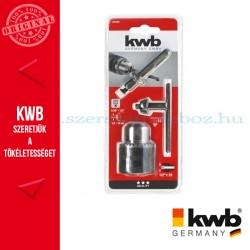 """KWB tokmány SDS Plus adapterrel befogás: 1/2"""""""