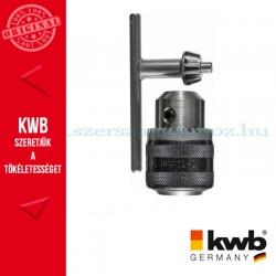 KWB PREMIUM bordázott tokmány S2 tokmány kulccsal ütvefúróhoz 1.5-13 mm