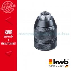 """KWB PROFI HM kulcsnélküli acél gyors tokmány befogás: 1/2"""""""