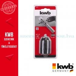 KWB kulcsnélküli gyors tokmány SDS Plus adapterre