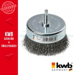 KWB PROFI HSS hullámos drótkefe csésze 0,35 x 75 mm