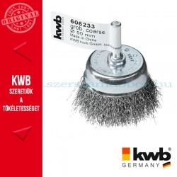 KWB PROFI HSS hullámos drótkefe csésze 0,3 x 50 mm
