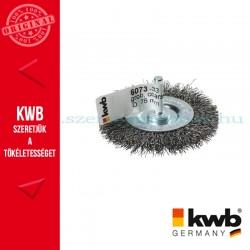 KWB PROFI HSS fonott drótkorong lapos vékony 0,35 x 75 mm