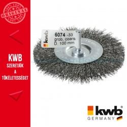 KWB PROFI HSS fonott drótkorong lapos vékony 0,35 x 100 mm
