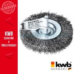 KWB HSS fonott drótkorong lapos vastag 0,3 x 75 mm