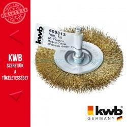 KWB PROFI réz fonott drótkorong lapos 0,2 x 75 mm