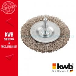 KWB PROFI fonott drótkorong lapos inoxhoz 0,3 x 75 mm
