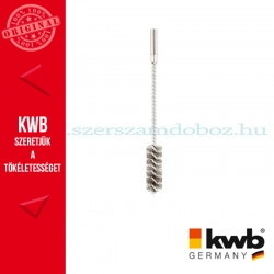 KWB PROFI drótos csőkefe 32 x 55 x 200 mm