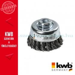 KWB PROFI AGGRESSO-FLEX® HSS STELL M14 hullámos fonott drótkefe 0,5 x 100 mm