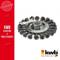 KWB PROFI AGGRESSO-FLEX® HSS STELLM14 hullámos fonott drótkorong 20 drótcsomó 0,5 x 115 mm