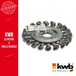 KWB PROFI AGGRESSO-FLEX® HSS STELLM14 hullámos fonott drótkorong