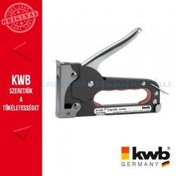 KWB STANDARD TACK 80 kézi tűzőgép kapocs: 4-8 mm