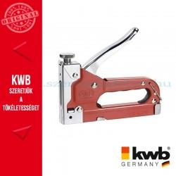 KWB STANDARD TACK 140 kézi tűzőgép kapocs: 4-14 mm