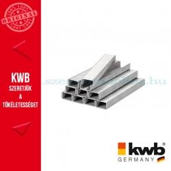 KWB PROFI acél tűzőgép kapocs 11,4 x 6 mm 1800 db