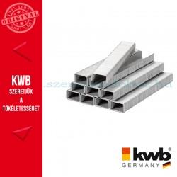 KWB PROFI INOX rozsdamentes tűzőgép kapocs 11,4 x 10 mm 1200 db