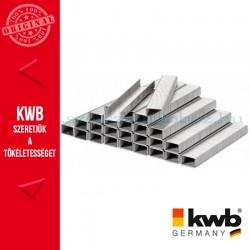 KWB PROFI extra erős acél tűzőgép kapocs 11,4 x 10 mm - 5000 db